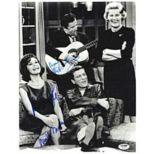 Dick Van Dyke Show Cast Signed 11x14 Photo Certified Authentic PSA/DNA COA