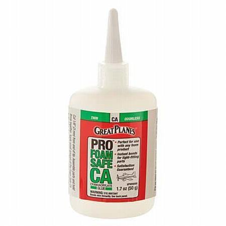 Pro Foam Safe CA Thin Glue 50g