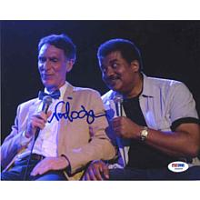 Neil deGrasse Tyson 'Nova' Cosmos Signed 8x10 Photo Certified Authentic PSA/DNA COA