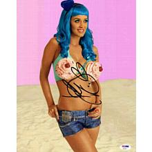 Katy Perry Cute Signed 11x14 Photo Certified Authentic PSA/DNA COA