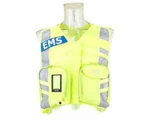 G3 Safety Vest, Advanced, Fluorescent W/ Ems Name Plate < StatPacks #G32001FL