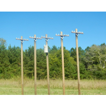 HO 30 Ft. Power Pole Set