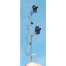 HO Pole Mount Searchlight Signal