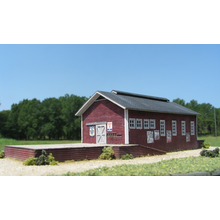 Z Scale Freight and Packing Shed