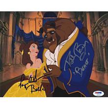 Beauty and the Beast Paige O'hara & Robby Benson Signed 8x10 Photo Certified Authentic PSA/DNA COA