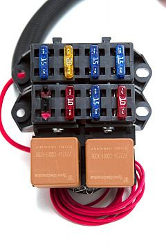 ls l psi standalone wiring harness w t trans view view view