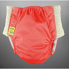 Antsy Pants™ AIO or AI2 size L Rose with White Easy-Stretch Sides (bigger kids apx. 45-60lbs)