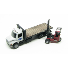 N FL-M2 Class 20 Ft. Local Delivery Flatbed with Option to Add Donkey Forklift