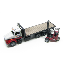 N KW Class 24 Ft. Local Delivery Flatbed with Option to Add Donkey Forklift