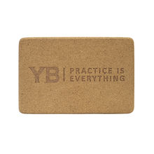 "Cork Yoga Block | YOGABODY™ Original ""Corky the Block"""