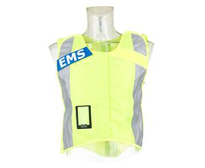 G3 Basic Safety Vest, Fluorescent W/ Ems Name Plate