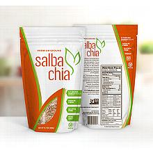 Salba Chia Premium Ground - 6.4oz bag. Approximately 12 servings.
