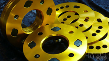 Slip on wheel spacers 7mm wide 66.2mm center bore for Nissan S13, S14 etc.