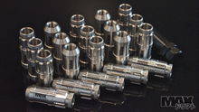 CLEARCOAT STAINLESS Spline Drive Racing Lug Nuts 12x1.25 (Nissan & FRS-BRZ thread)
