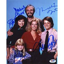 Family Ties Signed 8x10 Photo Certified Authentic PSA/DNA COA
