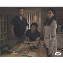 Being Human Cast Signed 8x10 Photo Certified Authentic PSA/DNA COA