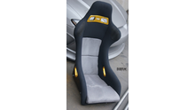 MAX BUCKET SEAT with BLACK belt parts