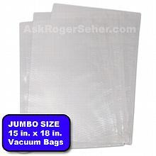 15x18 in. Vacuum Sealer Bags, 100 bags per box. ***** In Stock ready to ship*****