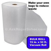 15 in. x 50 ft. Roll of Vacuum Sealer Bagging w/ Mesh Liner ***** In Stock, Ready to Ship *****
