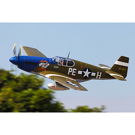 P-51B, Dallas Darling,PNP,1450mm