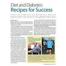 Diet and Diabetes: Recipes for Success