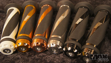 MAX Helical Scooter Grip Pair COPPER