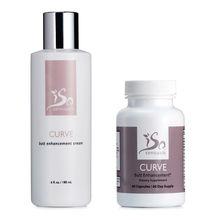 IsoSensuals CURVE | Butt Enhancement Combo (Cream & Pills)