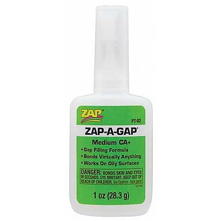 Zap A Gap CA+ Glue, 1 oz