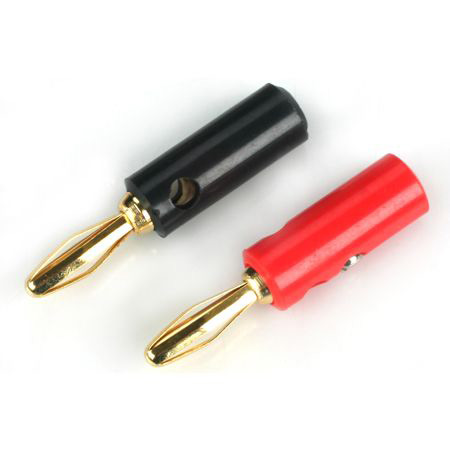 Gold Banana Plug Set with Screws
