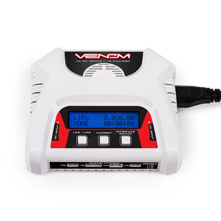 Venom 2-4 Cell AC/DC LiPO Charger
