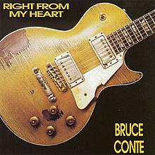 Right From My Heart - Bruce Conte