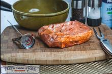 Stuffed and Seasoned Boneless Beef Roast