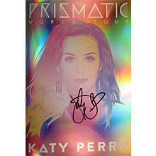Katy Perry Prismatic Tour Program Certified Authentic JSA COA