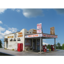 N Route 66 Series:  TWO GUNS GAS 'N GO