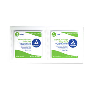 Alcohol Prep Pads, Large