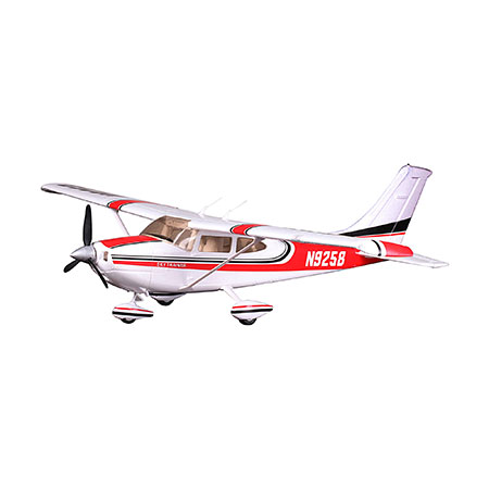 Cessna 182, Red, V2, RTF,1100mm