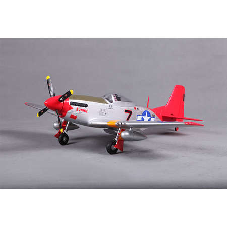 P-51 Red Tail, PNP, 800mm