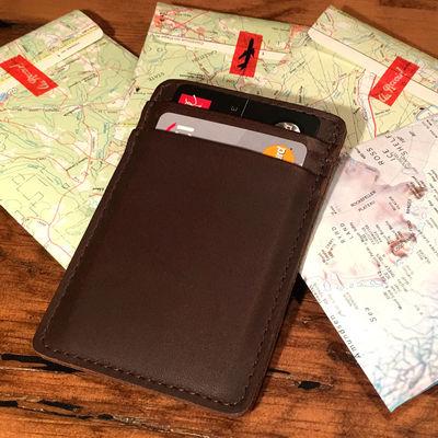 Premium Full Grain Leather Card Holders