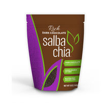 Dark Chocolate covered Salba chia - 5oz