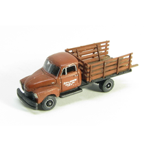 N 50s 3800 Chevy One Ton Flatbed