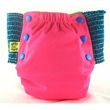 Hot Pink Antsy Pants™ in 6-12 months size, fits from around 13lbs to 22lbs