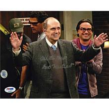 Bob Newhart 'Big Bang Theory' Signed 8x10 Photo Certified Authentic PSA/DNA COA