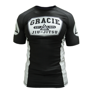 Short Sleeve Gracie Rashguard (Kids)