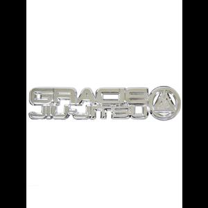 """3-D Metal """"Gracie Jiu-Jitsu"""" Auto Emblem"""