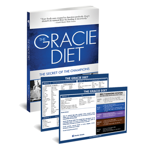 The Gracie Diet Book with Reference Chart