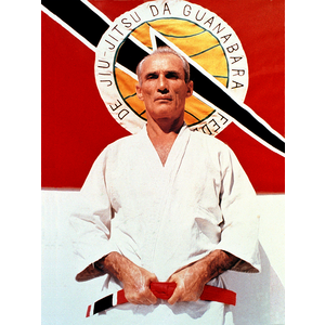 "Large Grand Master Helio Gracie (24x36"")"