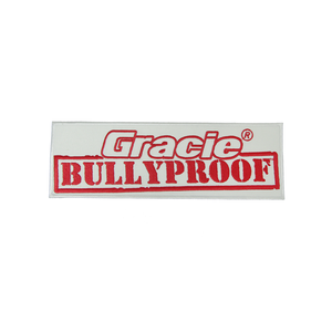 "(9.25x3"") Large Gracie Bullyproof Patch"