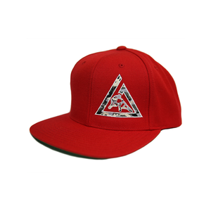 Camo Snapback (Red)
