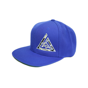 Camo Snapback (Royal Blue)