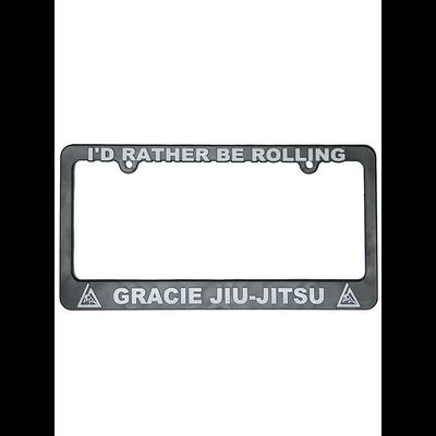 """I'd Rather Be Rolling"" License Plate Frame"